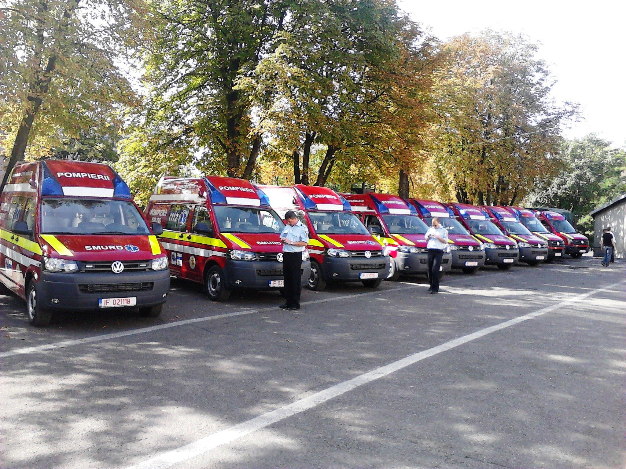 ambulanțe de prim ajutor